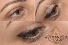 multicolor eyeshading alexandra