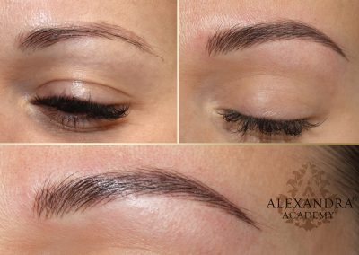 3D hairstroke eyebrow tattoo